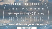 5 versículos alentadores de la Biblia acerca de la paz