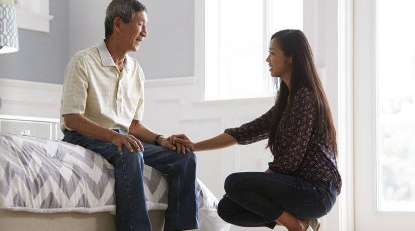 Cómo honrar a nuestros padres en la edad adulta