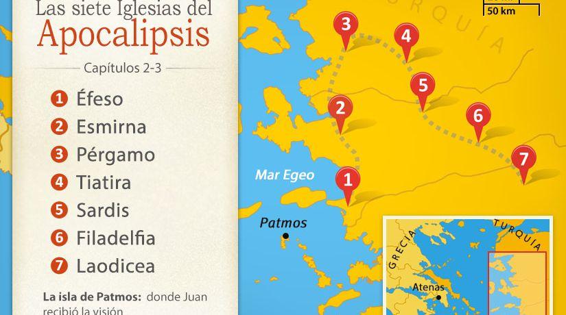 Resultado de imagen para siete iglesias de apocalipsis