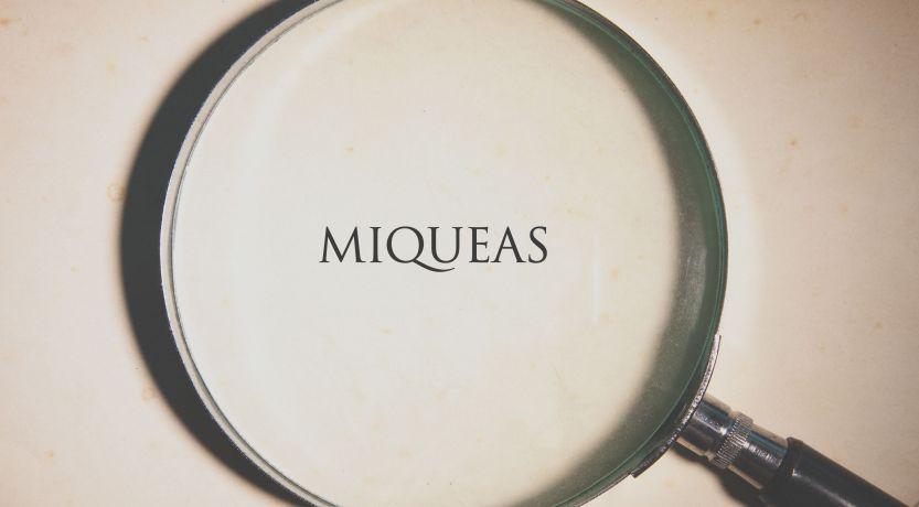 El libro de Miqueas